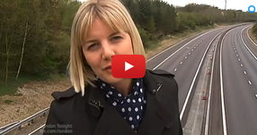 Призрак е уловен на живо по време на новините! (ВИДЕО)