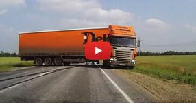 ГЛЕДАЙТЕ как този шофьор успя да спре 40-ТОНОВИЯ тир, за да избегне фатален инцидент! (ВИДЕО)