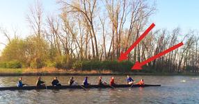 Те тренираха гребане в една спокойна река... но това, което изведнъж им се случи ги остави без думи! (ВИДЕО)