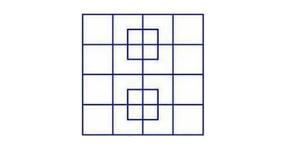 ТИ СИ ГЕНИЙ, ако успееш да преброиш колко квадрата има на тази снимка!
