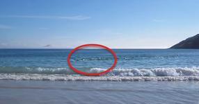 Хората просто си почиваха на плажа. Но това, което се случи изведнъж, ще го запомнят за цял живот! (ВИДЕО)