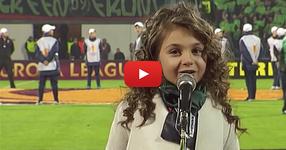"""Когато КРИСИЯ запя """"Моя страна, моя България"""", всички на стадиона останаха БЕЗ ДУМИ! (ВИДЕО)"""