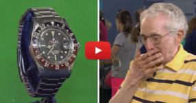 Възрастен човек носи стария си Rolex на експерт. ГЛЕДАЙТЕ неговата реакция, когато разбра стойността на часовника! (ВИДЕО)