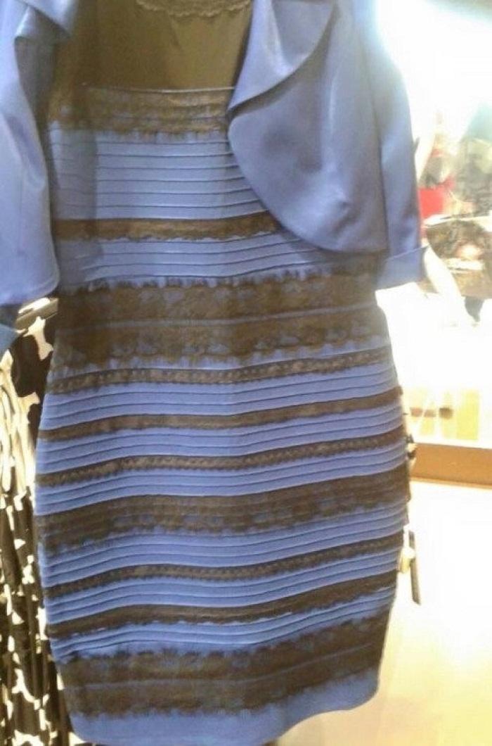 рокля различни цветове синьо златисто