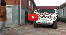 Брутална Руска сватба! Всичко, което до сега сте виждали, не ряпа а фасул да яде!!! (ВИДЕО)