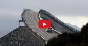 Това е най-опасния път в света! Трябва да се види за да се повярва, че съществува подобен път за коли?!? (ВИДЕО)