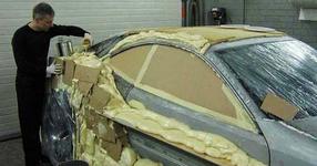 С пяна и картон, той направи от старата си кола невероятен спортен автомобил! (СНИМКИ)