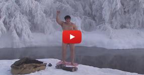 Как се ходи на баня в Сибир при МИНУС 52 градуса!?! Вие бихте ли се пробвали? (ВИДЕО)