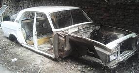 Той купи едно старо ръждясало купе на ВОЛГА и го превърна в американска кола! (СНИМКИ)