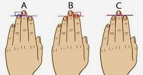 ЗНАЕТЕ ЛИ, че дължината на пръстите може да разкрие много неща за вашата личност !?