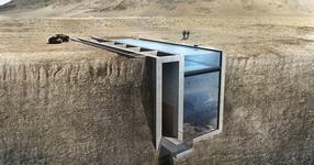 Тази бруталната къща предлага удивителен и ужасяващ изглед към морето! (СНИМКИ)