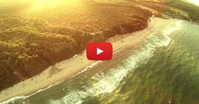 Вдигнаха дрон над девствения плаж на Иракли! Засне кадри, които сякаш са от друг свят! (ВИДЕО)