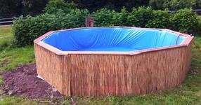 Ето как да си направим сами чуден басейн в двора! Супер евтино и с размер по ваше желание! (СНИМКИ)