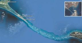 Сензационни снимки на НАСА! Откриха гигантски мост в океана! Смяташе се, че е просто мит... (СНИМКИ)
