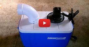Как да си направим домашен климатик за по-малко от 50 лв. (ВИДЕО)