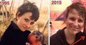 Тя реши да скрие бебето, за да не може никой да вижда лицето му. 22 години по-късно младото момиче се показа на всички!