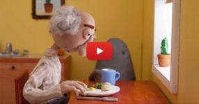 Този кратък филм за самотата и старостта ще ви докосне. Заслужава си да се види! (ВИДЕО)