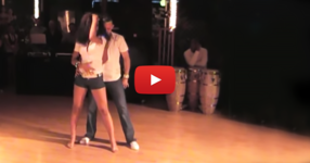Това е ШЕДЬОВЪР гледан над 90 милиона пъти! ВИЖТЕ само как тази двойка танцува бачата! Ето ТОВА вече е съвсем друго ниво! (ВИДЕО)