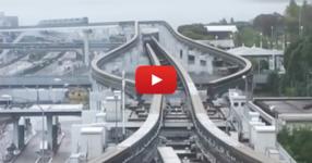 Ще ахнете, когато видите как се движат някои влакове в Япония! Погледнете каква технология само! (ВИДЕО)