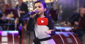 Ще настръхнете щом чуете как пее тази силна песен Крисия Тодорова! Браво детенце! Ти си нашата гордост! (ВИДЕО)