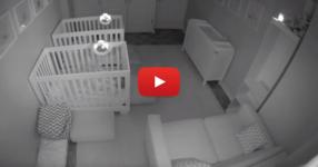 Родители инсталираха видеокамера в стаята на техните близнаци. Още първата вечер родителите останаха изненадани! (ВИДЕО)