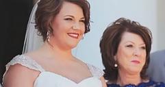 Тя е осиновена като бебе. Това, което майка й й дава на сватбата? Невероятно!