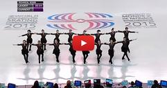 16 фигуристки излязоха на леда. Но обърнете внимание на краката им, когато започна музиката... (ВИДЕО)