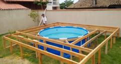 Този човек няма пари да си позволи басейн. Това, което той направи в задния си двор, е повече от впечатляващо! (СНИМКИ)